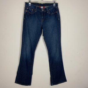 Lucky Brand- Sweet N'Low Short Bootcut Jeans sz 4